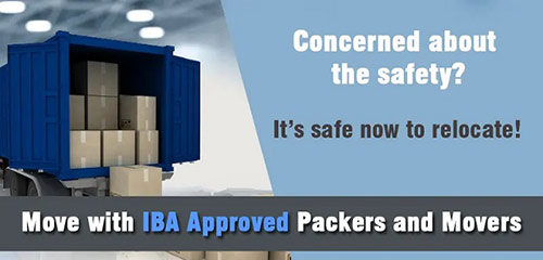 IBA Approved Packers and Movers in India to Transport Goods