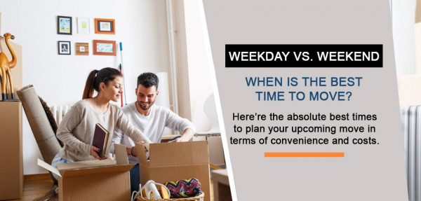 Weekday vs. Weekend Moving: When Should You Move?