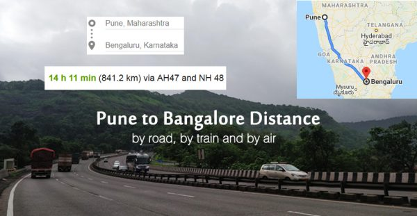Pune-to-Bangalore-Distance-Information