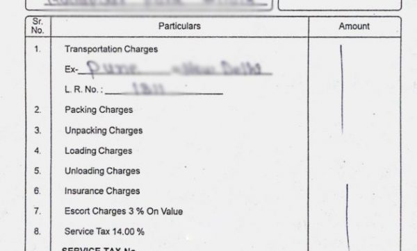 packers-and-movers-charges-receipt