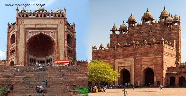 Buland-Darwaza-Front-&-Back-Side-Fatehpur-Sikri