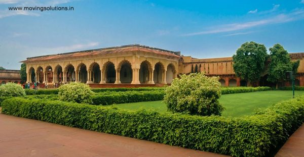 Exterior-of-Diwan-I-Aam-Agra-Fort