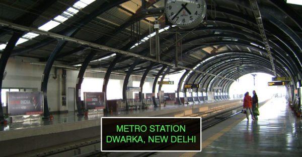 Metro-Station-Dwarka-Delhi