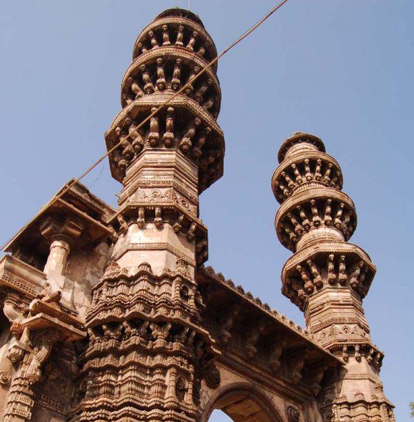 Shaking-Minarets-Sidi-Bashir-Mosque-Ahmedabad