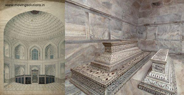 Taj-Mahal-Interiors-and-Tombs-Agra