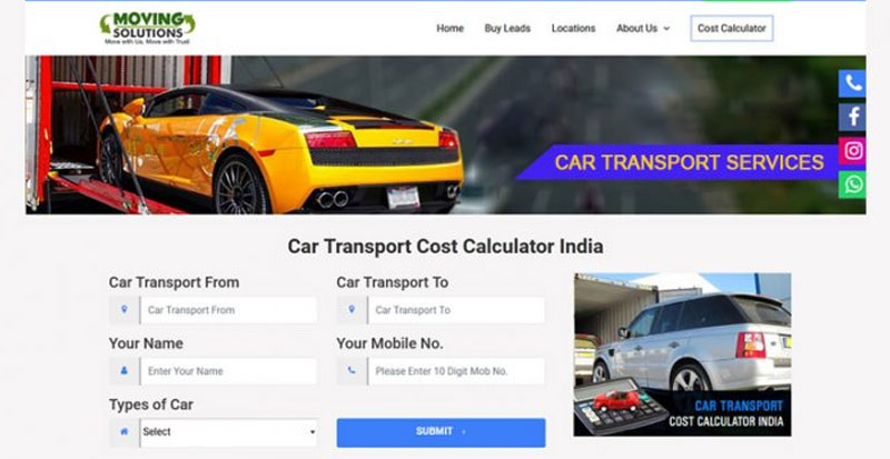 CAR-TRANSPORT-COST-CALCULATOR
