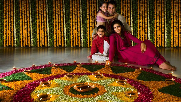 flower-and-garlands-decoration-on-diwali